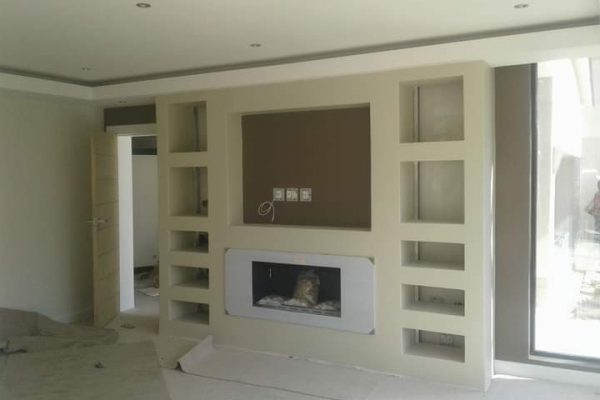 Fitted tv cabinet